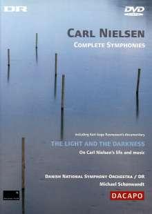 Carl Nielsen (1865-1931): Symphonien Nr.1-6, 2 DVDs