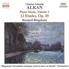 Charles Alkan (1813-1888): Etudes op.35, CD