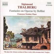 Sigismund Thalberg (1812-1871): Fantasien über Opern von Bellini, CD