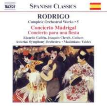 Joaquin Rodrigo (1902-1999): Orchesterwerke Vol.5, CD