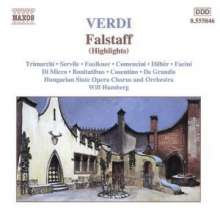 Giuseppe Verdi (1813-1901): Falstaff (Ausz.), CD
