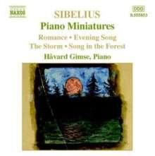 Jean Sibelius (1865-1957): Klavierwerke Vol.5, CD