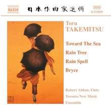 Toru Takemitsu (1930-1996): And Then I Knew 'Twas Wind für Flöte,Viola & Harfe, CD