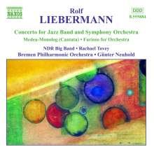 Rolf Liebermann (1910-1999): Konzert f.Jazzband & Orchester, CD