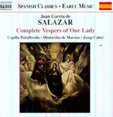 Juan Garcia de Salazar (1639-1710): Complete Vespers of Our Lady, CD