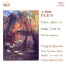 Arthur Bliss (1891-1975): Oboenquintett, CD