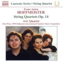 Franz Anton Hoffmeister (1754-1812): Streichquartette op.14 Nr.1-3, CD