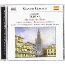 Joaquin Turina (1882-1949): Sinfonia Sevillana op.23, CD