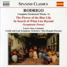 Joaquin Rodrigo (1902-1999): Orchesterwerke Vol.6, CD