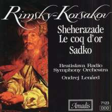 Nikolai Rimsky-Korssakoff (1844-1908): Sheherazade / Le Coq D'or / Sa, CD