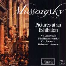 Mussorgsky / Serov / Vo: Pictures At An Exhibition, CD