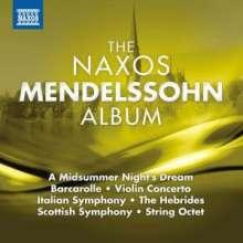The Naxos Mendelssohn Album, CD