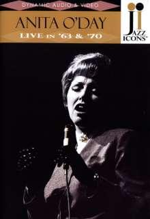 Anita O'Day (1919-2006): Live In '63 & '70, DVD