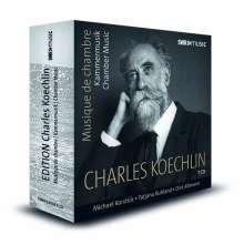 Charles Koechlin (1867-1950): Edition Charles Koechlin - Kammermusik & Klavierwerke, 7 CDs