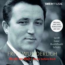 Fritz Wunderlich - Musik vor Bach, 2 CDs