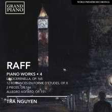 Joachim Raff (1822-1882): Klavierwerke Vol.4, CD