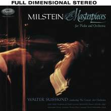 Nathan Milstein - Masterpieces for Violin and Orchestra, SACD