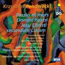 Krzysztof Penderecki (geb. 1933): Lukas-Passion, CD