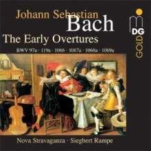 Johann Sebastian Bach (1685-1750): Orchestersuiten Nr.1-4 (Frühfassungen), 2 CDs