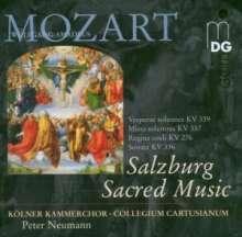"Wolfgang Amadeus Mozart (1756-1791): Messe KV 337 ""Missa solemnis"", CD"