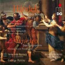 Georg Friedrich Händel (1685-1759): Alessandro Severo HWV A13 (Pasticcio), 3 CDs