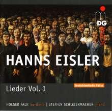 Hanns Eisler (1898-1962): Lieder Vol.1, CD