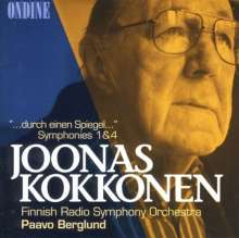 Joonas Kokkonen (1921-1996): Symphonien Nr.1 & 4, CD