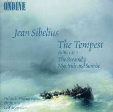 Jean Sibelius (1865-1957): The Tempest-Suiten Nr.1 & 2 (op.109 Nr.2 & 3), CD