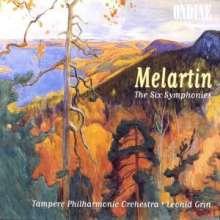 Erkki Melartin (1875-1937): Symphonien Nr.1-6, 3 CDs