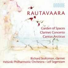 Einojuhani Rautavaara (geb. 1928): Klarinettenkonzert, CD