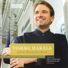 Tommi Hakala - Great Baritone Arias, CD