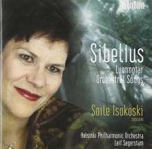 Jean Sibelius (1865-1957): Orchesterlieder, SACD