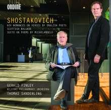 Dmitri Schostakowitsch (1906-1975): Michelangelo-Suite op.145a für Bariton & Orchester, CD