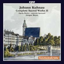 Johann Kuhnau (1660-1722): Sämtliche geistliche Werke Vol.2, CD