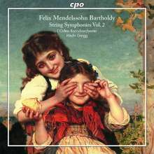 Felix Mendelssohn Bartholdy (1809-1847): Streichersymphonien Vol.2, CD