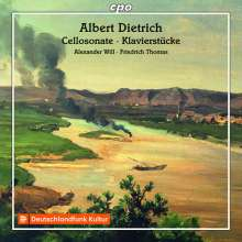 Albert Dietrich (1829-1908): Cellosonate op.15, CD