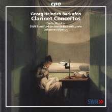 Johann Georg Heinrich Backofen (1768-1830): Klarinettenkonzerte opp.3,16 & 24, CD