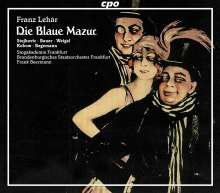 Franz Lehar (1870-1948): Die blaue Mazur, 2 CDs