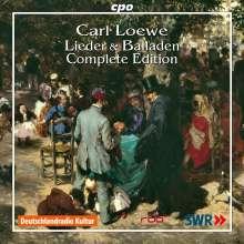 Carl Loewe (1796-1869): Sämtliche Lieder und Balladen, 21 CDs