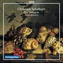 Christoph Schaffrath (1709-1763): Kammermusik Vol.2, CD