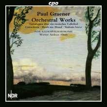 Paul Graener (1872-1944): Orchesterwerke Vol.1, CD