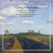"Georg Schumann (1866-1952): Symphonie h-moll ""Preis-Symphonie"", CD"