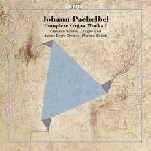 Johann Pachelbel (1653-1706): Sämtliche Orgelwerke Vol.1, 5 SACDs