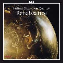 Berliner Saxophon Quartett - Renaissance, CD