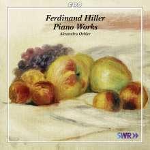 Ferdinand Hiller (1811-1885): Klavierwerke, CD