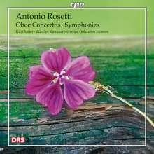 Antonio Rosetti (1750-1792): Oboenkonzerte C-Dur (Murray C29 & C30/Kaul III 27 & 32), CD