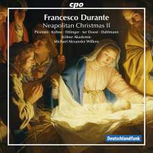Francesco Durante (1684-1755): Neapolitanische Musik zu Weihnachten 2, CD