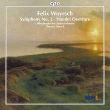 Felix Woyrsch (1860-1944): Symphonie Nr.2 op.60, CD