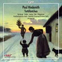 Paul Hindemith (1895-1963): Tuttifäntchen (Musikalisches Weihnachtsmärchen), CD