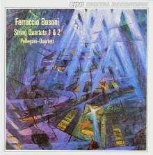 Ferruccio Busoni (1866-1924): Streichquartette Nr.1 & 2 (op.19 & op.26), CD